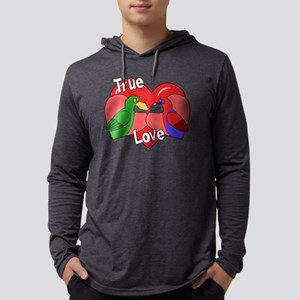 truelove_eclectus Mens Hooded Shirt