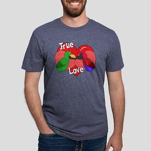 truelove_eclectus Mens Tri-blend T-Shirt