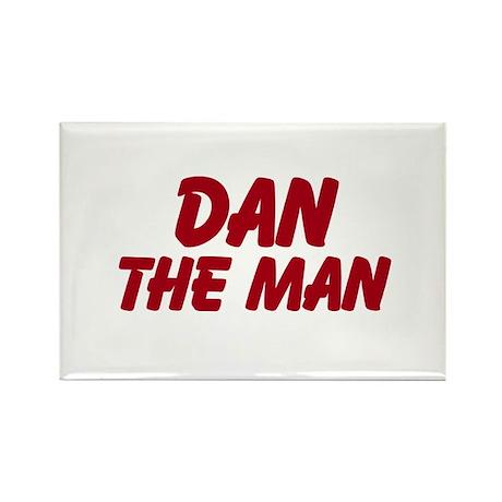 Dan The Man Rectangle Magnet