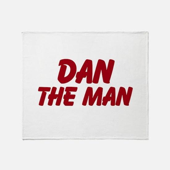 Dan The Man Throw Blanket