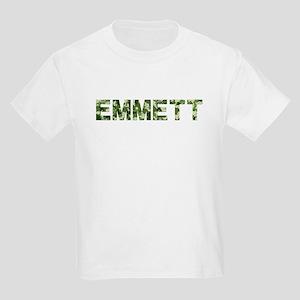 Emmett, Vintage Camo, Kids Light T-Shirt