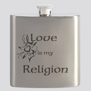 love is my religion Flask