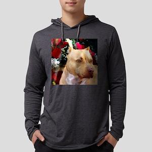VioletCWatercolorSectionCloseUp. Mens Hooded Shirt