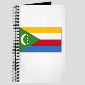 Comoros Flag Picture Journal