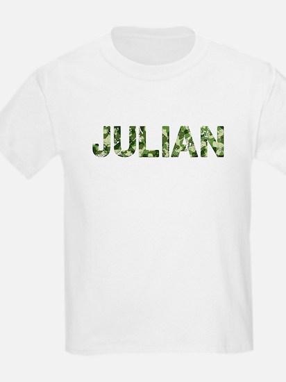 Julian, Vintage Camo, T-Shirt