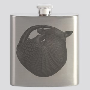 Sleeping Armadillo Flask