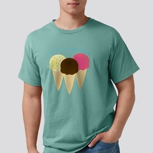 We All Scream Mens Comfort Colors Shirt