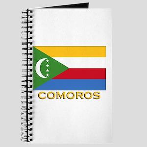 Comoros Flag Merchandise Journal