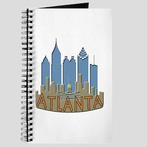 Atlanta Skyline Newwave Beachy Journal