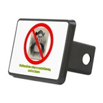 Columbus Not a Hero Rectangular Hitch Cover