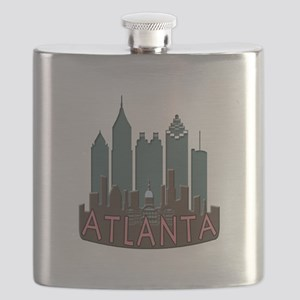Atlanta Skyline Newwave Chocolate Flask
