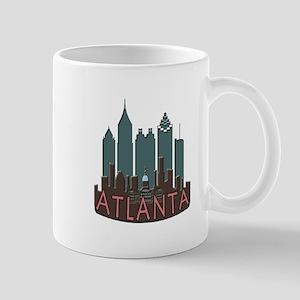 Atlanta Skyline Newwave Chocolate Mug