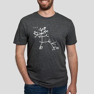 thinkingtree- white Mens Tri-blend T-Shirt