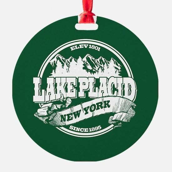 Lake Placid Old Circle Ornament