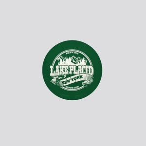 Lake Placid Old Circle Mini Button