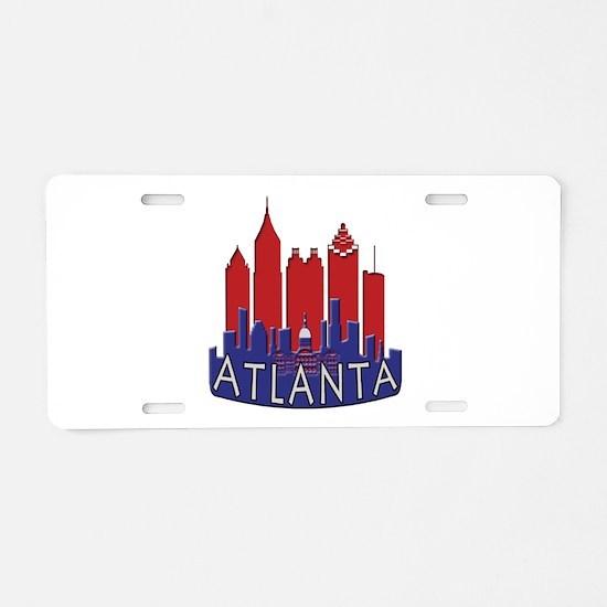 Atlanta Skyline Newwave Patriot Aluminum License P