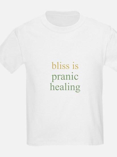 bliss is PRANIC HEALING  Kids T-Shirt