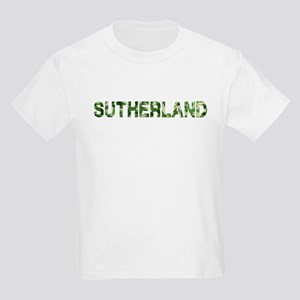 Sutherland, Vintage Camo, Kids Light T-Shirt