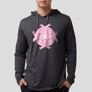 BCRibbonCureTRfc Mens Hooded Shirt