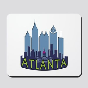 Atlanta Skyline Newwave Cool Mousepad