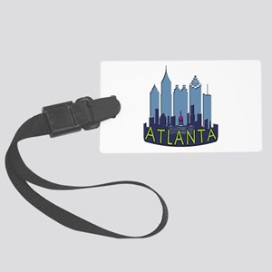 Atlanta Skyline Newwave Cool Large Luggage Tag