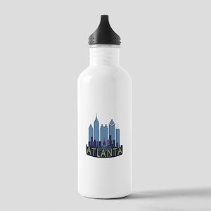 Atlanta Skyline Newwave Cool Stainless Water Bottl