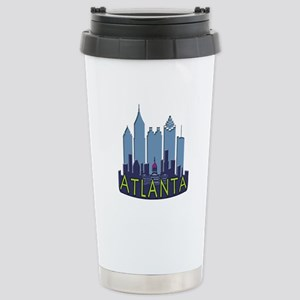 Atlanta Skyline Newwave Cool Stainless Steel Trave