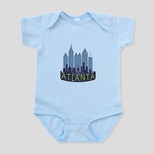 Atlanta Skyline Newwave Cool Infant Bodysuit