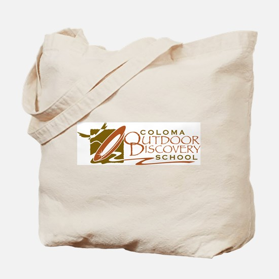 Coloma Outdoor Discovery School Logo Tote Bag