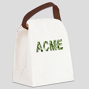 Acme, Vintage Camo, Canvas Lunch Bag