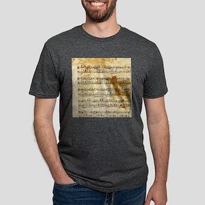 Vintage Music Mens Tri-blend T-Shirt