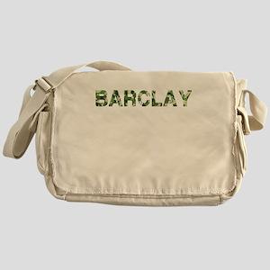 Barclay, Vintage Camo, Messenger Bag