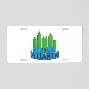 Atlanta Skyline Newwave Primary Aluminum License P
