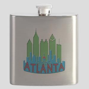 Atlanta Skyline Newwave Primary Flask