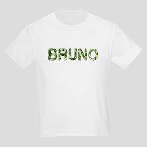 Bruno, Vintage Camo, Kids Light T-Shirt