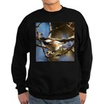 Chickadee in Tree Sweatshirt (dark)