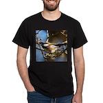 Chickadee in Tree Dark T-Shirt