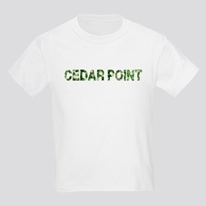 Cedar Point, Vintage Camo, Kids Light T-Shirt