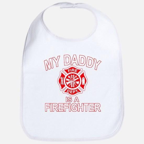My Dad Is a Firefighter Bib