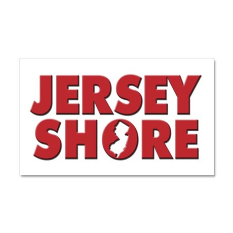 JERSEY SHORE Car Magnet 20 x 12
