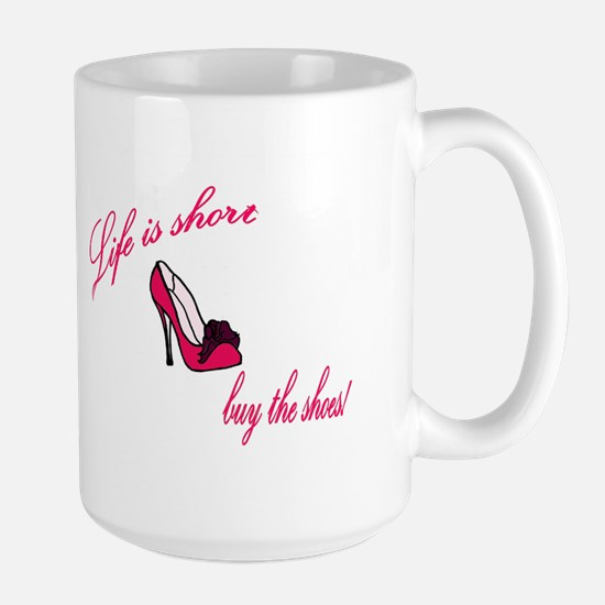 buy the shoes Mugs