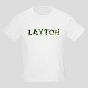 Layton, Vintage Camo, Kids Light T-Shirt