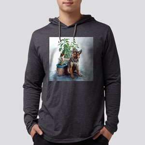 yrframedlprint Mens Hooded Shirt