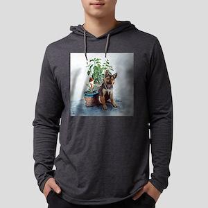 yrclock Mens Hooded Shirt