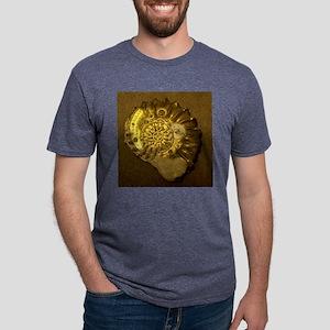 Machina ammonita by Paul D. Mens Tri-blend T-Shirt