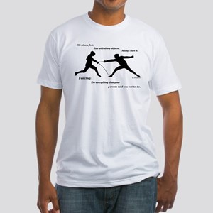 Hit First Fitted T-Shirt
