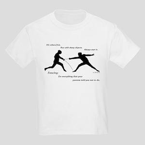 Hit First Kids Light T-Shirt