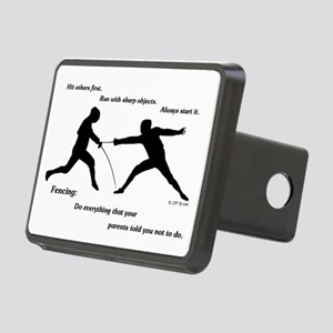 Hit First Rectangular Hitch Cover