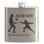 Beware of Short Fencers Flask