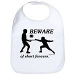 Beware of Short Fencers Bib